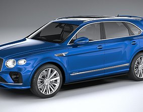 Bentley Bentayga Speed 2021 3D model