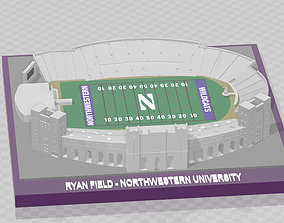 Northwestern Wildcats - Ryan 3D print model