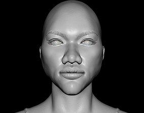 3D Female Head