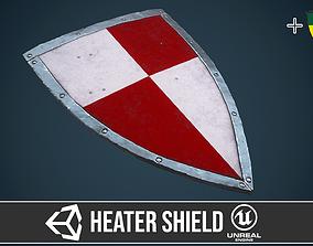 3D asset Heater shield 6
