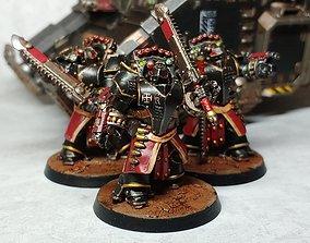 Black Knights - Bellicosor Squad 3D print model
