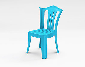 New ABS Chair 01 3D model