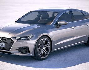 3D Audi A7 Sportback 2018