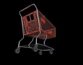 3D model Shopping Carts