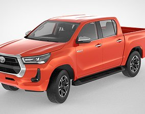 3D offroad Toyota Hilux Double Cab 4WD 2020