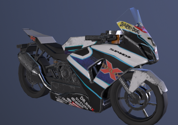 Suzuki low poly model