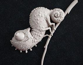 chameleon 3D print model