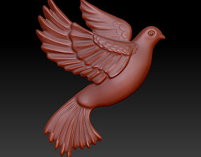 flying pigeon 3D print model