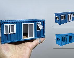 Contener House 3D Printing Model