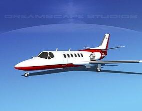 3D Cessna C550 Citation II V09