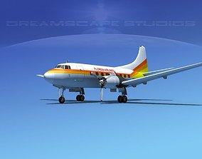3D model Martin 404 Florida Airlines