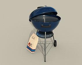 Charcoal Grill 3D model