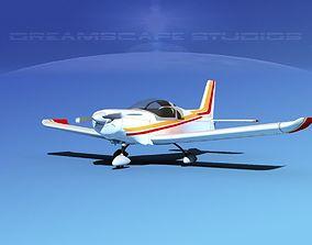 3D model Zlin Z 242 V05