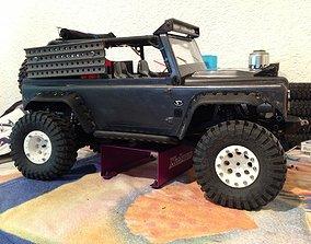 3D printable model Axial SCX10 1 9 Beadlock Wheels