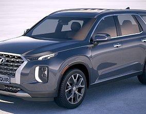 Hyundai Palisade 2020 3D