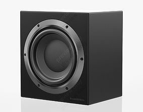 3D model Bowers and Wilkins CT SW 10