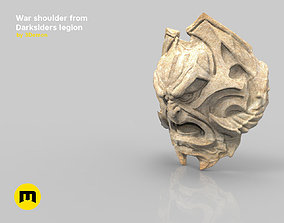 3D print model War shoulder darksiders legion armour