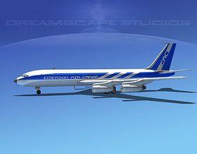 Boeing 707 Emerson Air Cargo 3D