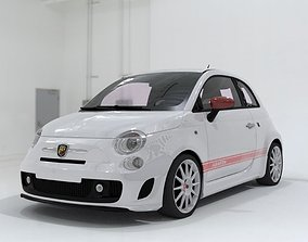 3D model Fiat 500 Abarth SS Esseesse sport coupe car