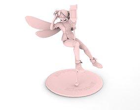 a little fairy 3D asset realtime