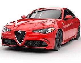 3D Alfa Romeo giulia 2017