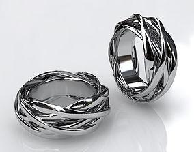 Knots ring 3D print model