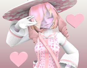 3D BubbleGum Witch