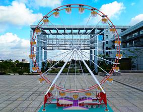 Large playground equipment 3D model