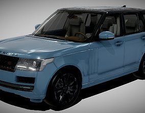 game-ready Range Rover Vogue Luxury SUV 3D Model