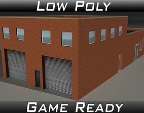 Factory Building 19 3D asset