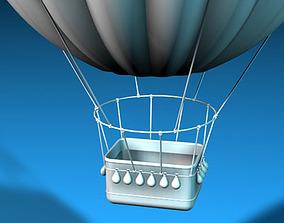 Fantasy montgolfiere 3D