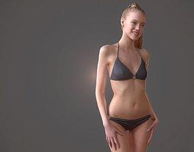 3D asset Bikini Girl