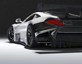 3D model MCLAREN CAR GT 650 WHITE COLOR