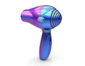 3D Hair dryer