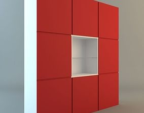 3D model Contemporary Display and Storage Unit