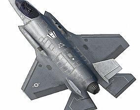 F35 A 3D asset game-ready
