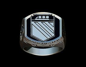 3D print model Manchester United vintage ring