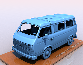 3D printable model VOLKSWAGEN T3 TRANSPORTER WESTFALIA