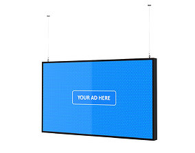 3D model Digital Panel Horizontal 49 Inch