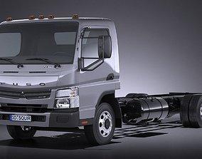 Mitsubishi FUSO Chassis 2016 3D