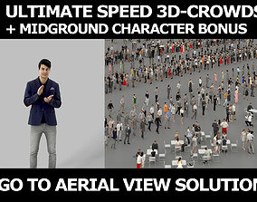 3d crowds and Prime A clapping Midground Smart Casual