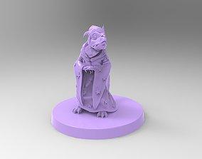 3D print model Daggertail the Lizard Wizard kobold