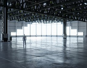 Warehouse Interior 4 - Textures lowpoly 3D asset