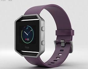 Fitbit Blaze Plum-Silver 3D model