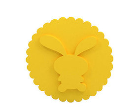 3D printable model Cookie stamp - Stamp cutter