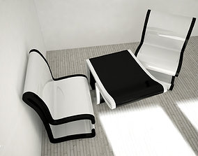 Stripe Chair 3D