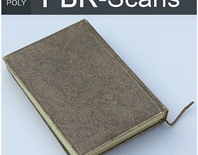 3D model PBR Notebook Middle Poly