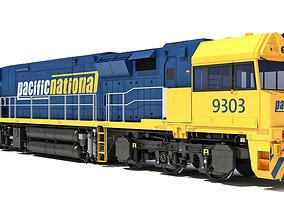 3D model Electric Locomotive C44aci