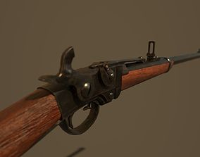 Smith Carbine Game Ready 3D asset