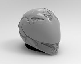 casco gothic valentino rossi 3D print model